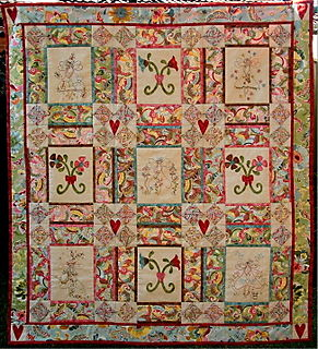 Fairy Meadow full quilt photo