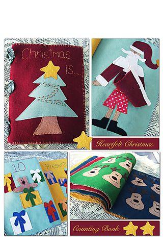 Heartfelt Christmas counting book NR35 4 x 6