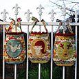 Christmas Cameo gift bags NR34