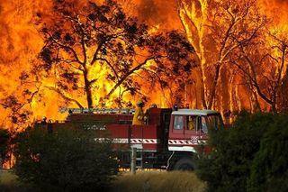 Aussie firefighter