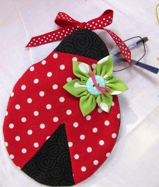 Ladybird's serenade glasses case