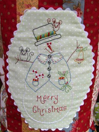 Christmas jingles snowman