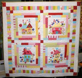 Quilters Corner Blossom creek BOM