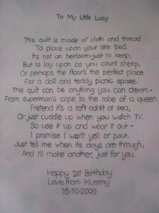 Poem for Lucy