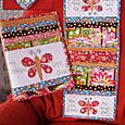 Flutterby stitches armchair caddy & folder cover   NR46
