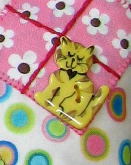 Yellow kitty cat