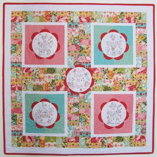 The Flower Pot People Quilt newletter