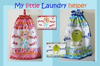 My little laundry helper pattern photo S089 for cover