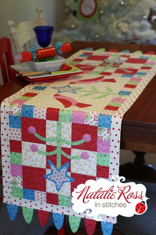 A Family Gathering Tablerunner blog photo
