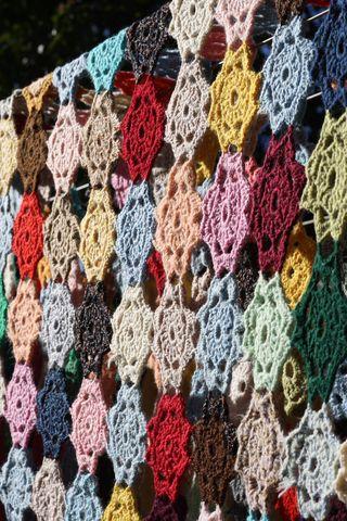 Crochet rug 1