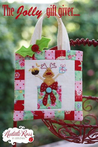 The Jolly gift giver Christmas bag copy