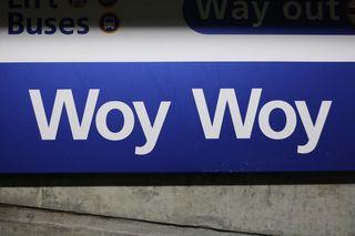 Woy woy sign