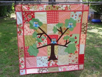 Amanda's woodland magic quilt