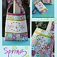 NR74 Spring Market bag, purse & glasses case
