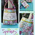 NR74 Spring Market bag, purse & glasses case