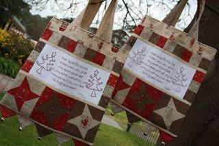 Christmas bags by Sharon