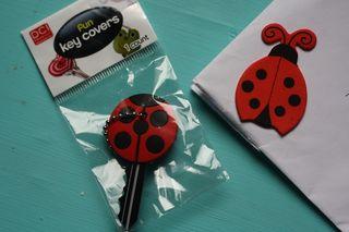Ladybird key cover