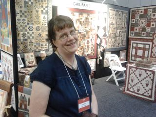 Gail at booth AQM 2011