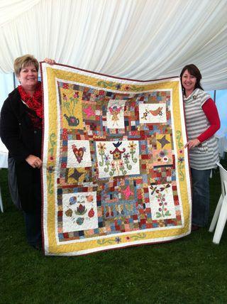 Jenny Morris stitchers dream day out