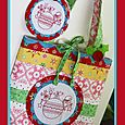 Christmas candy bag and purse set NR76
