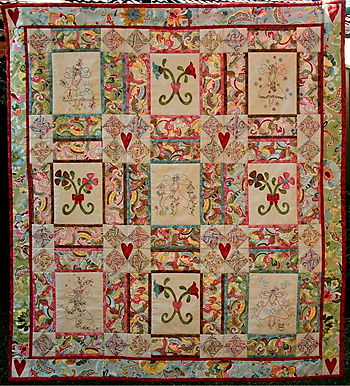 Fairy Meadow BOM Quilt