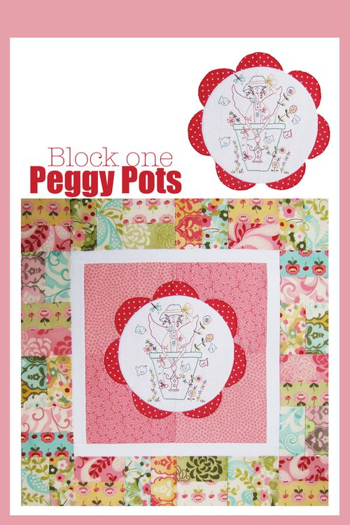 Peggy Pots Block one