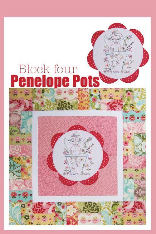 Penelope Pots Block four