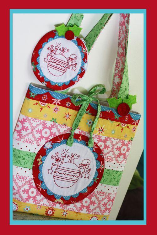 Christmas candy bag and purse set NR76